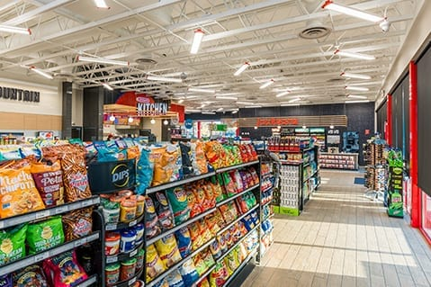 Interior Layout of Jacksons Convenience Store