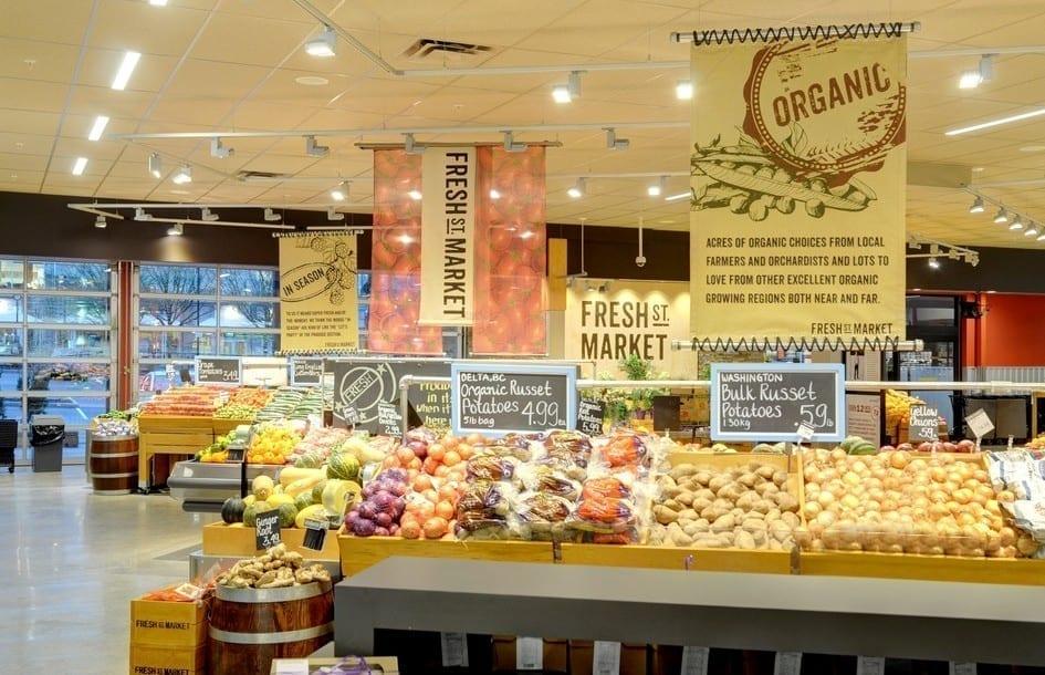 Fresh St. Market Produce Display